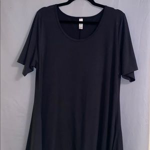 Solid Black LuLaRoe Perfect Tee